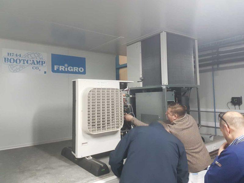 Sfeerbeeld CO2 Bootcamp opleiding van Frigro Services
