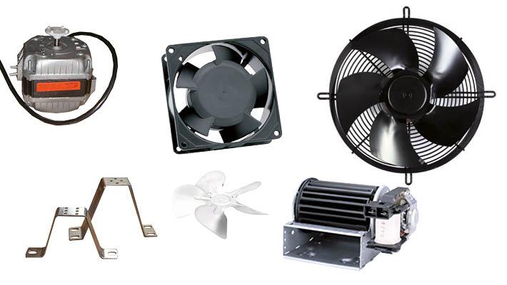 Ventilatoren en motoren