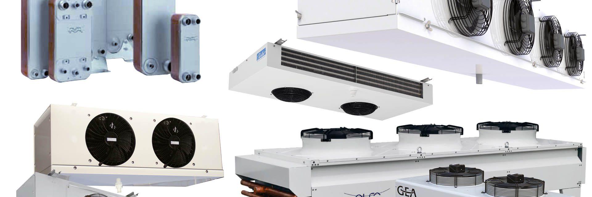 Warmtewisselaars en toebehoren van Roller, Alfa Laval en Kelvion
