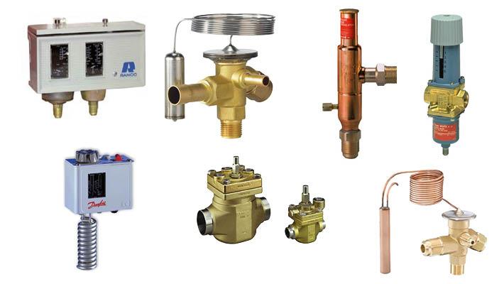 Mechanische regeling voor een koel- en vriesinstallatie