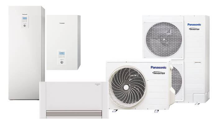 Panasonic Aquarea lucht-water warmtepomp