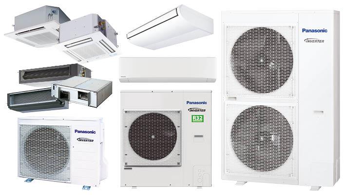 Panasonic PACi lucht-lucht warmtepompen voor commerciële toepassingen