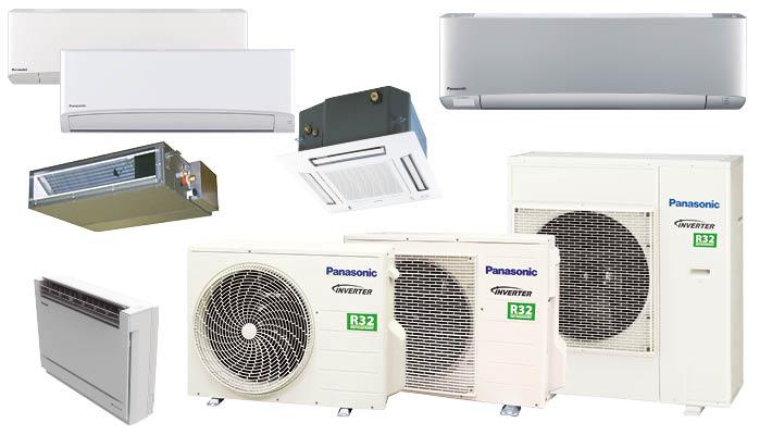 Panasonic RAC lucht-lucht warmtepompen voor residentiële toepassingen