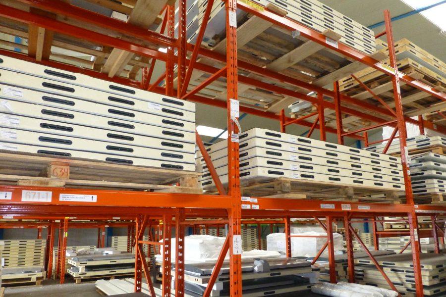 Frigro magazijn voorraad panelen