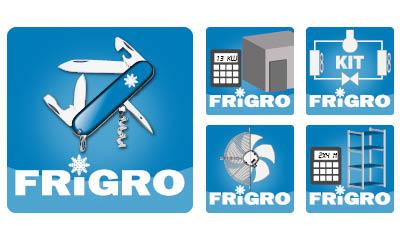 Frigro online Toolbox met handige calculators en selectie tools