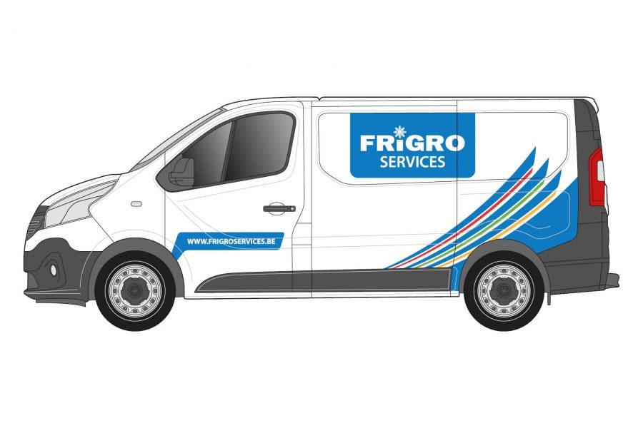 Frigro Services bestelwagen