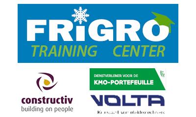 Frigro Services: erkend dienstverlener voor KMO-portefeuille, Volta en Constructiv.