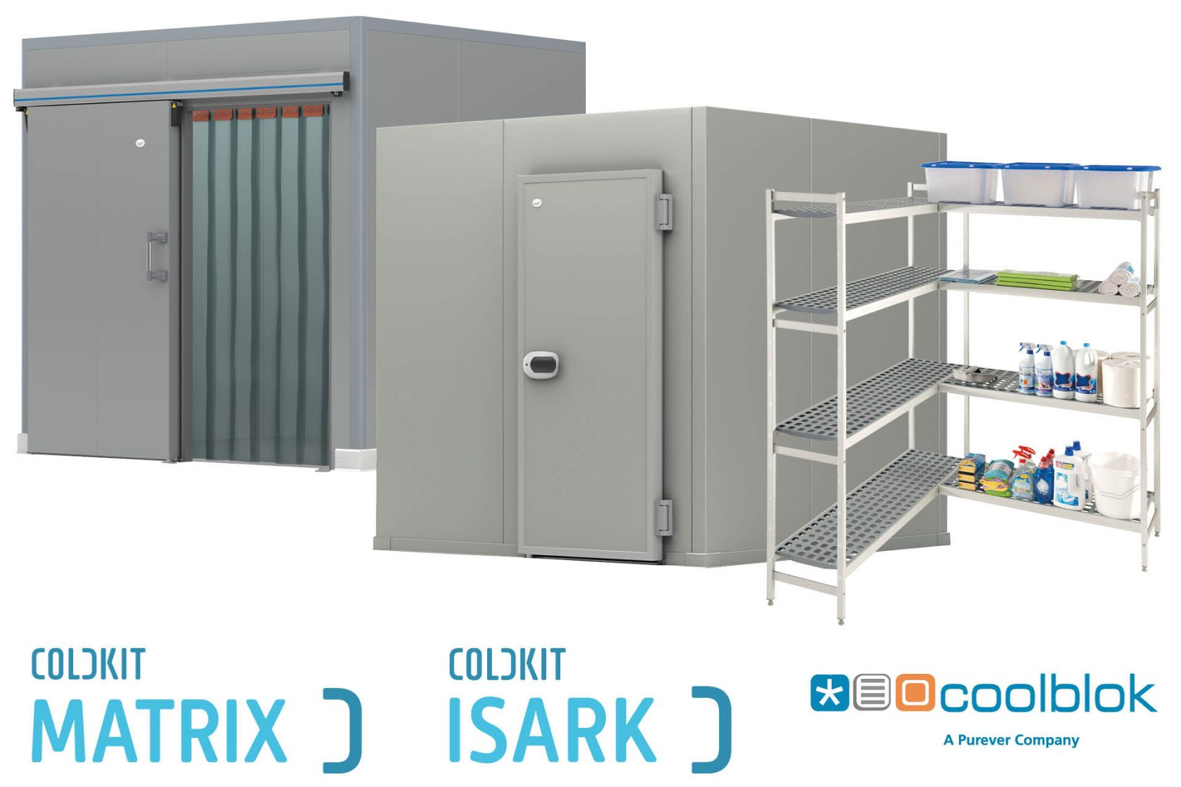 Coldkit Matrix Isark en Coolblok
