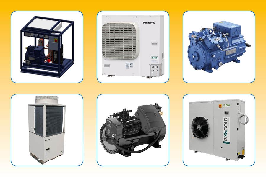 Frigro CO2-Components deel A: compressoren en koelgroepen
