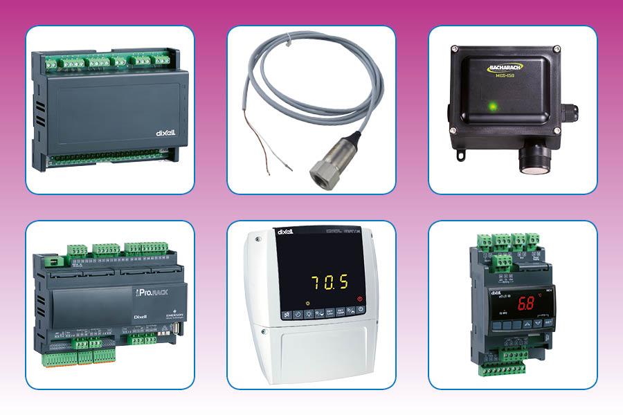 Frigro CO2-Components deel C: Elektronische meet- en regelapparatuur en schakelborden