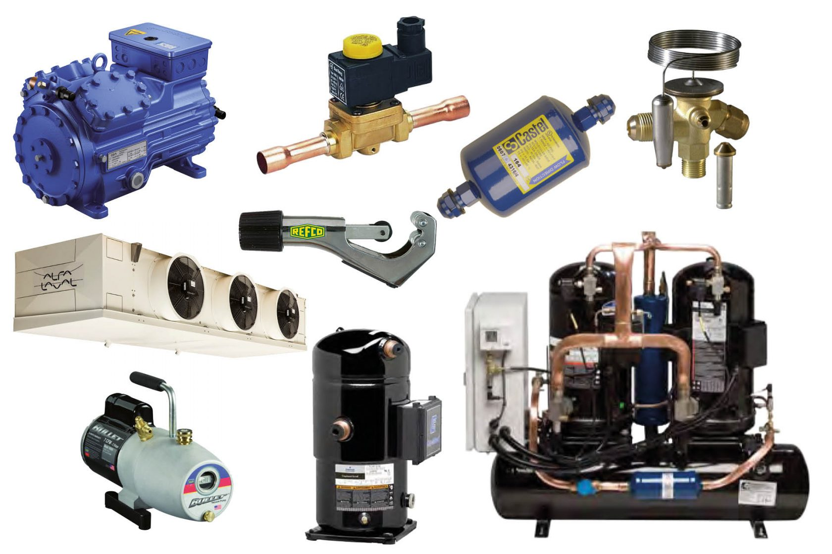 Frigro Export refrigeration components