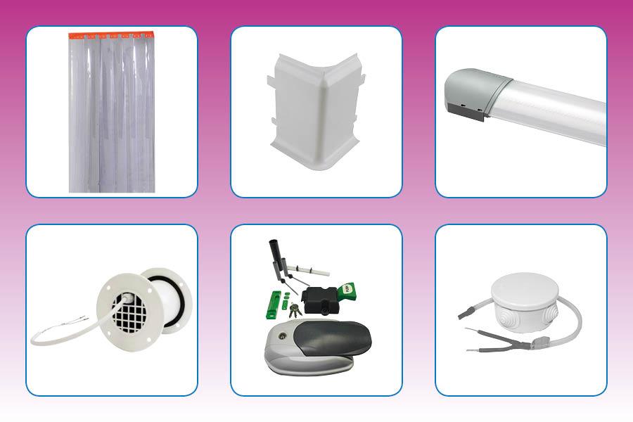 Frigro Isocomponents deel C: koelcel onderdelen en accessoires