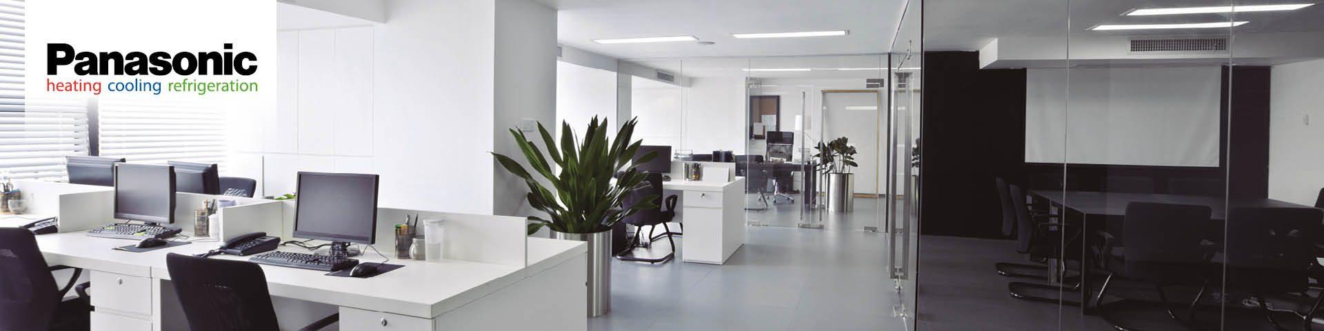 Panasonic VRF gamma bij Frigro - warmtepompen voor kantoorgebouwen