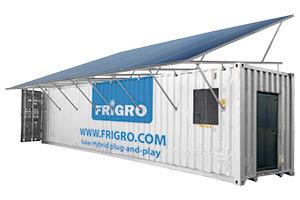 Frigro solar container unit