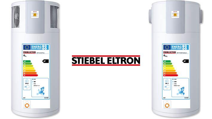 Stiebel Eltron A+ warmtepompboilers
