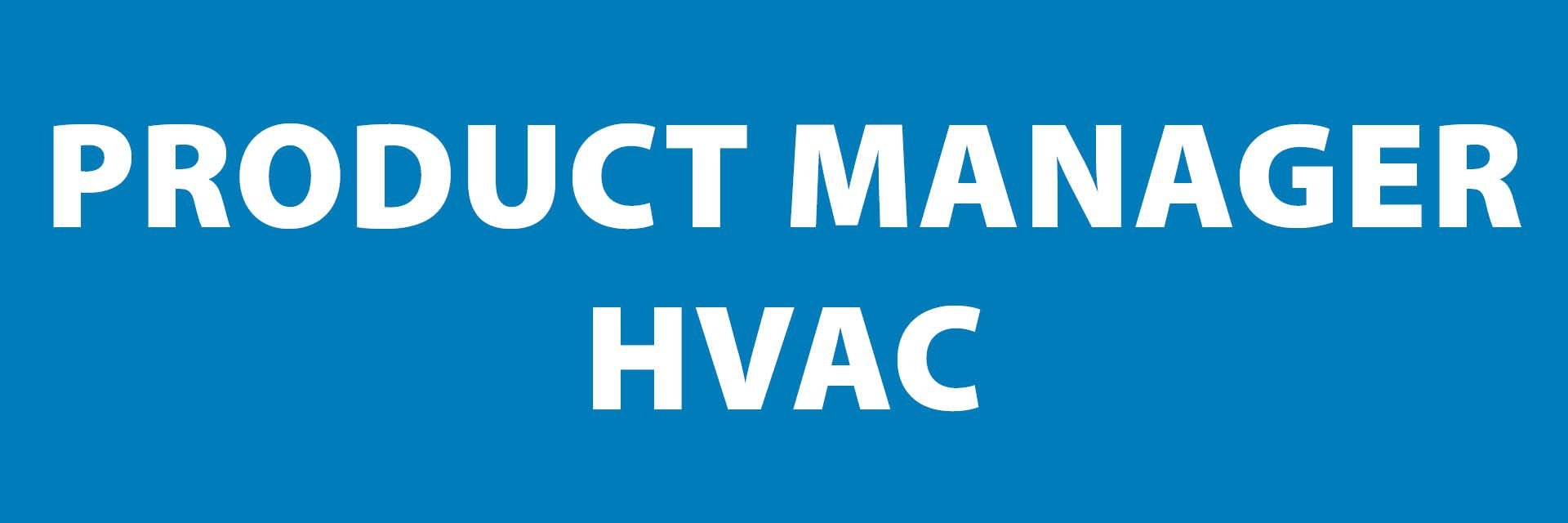 Frigro vacature: product manager HVAC