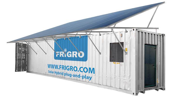 Export Solar Container Frigro