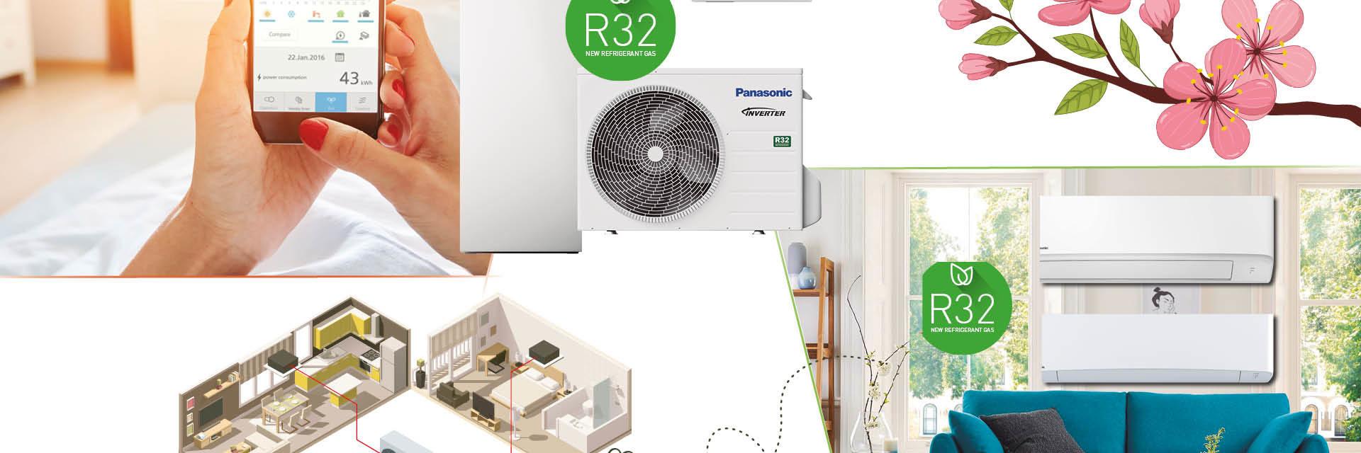 Panasonic warmtepompen voorjaarsactie