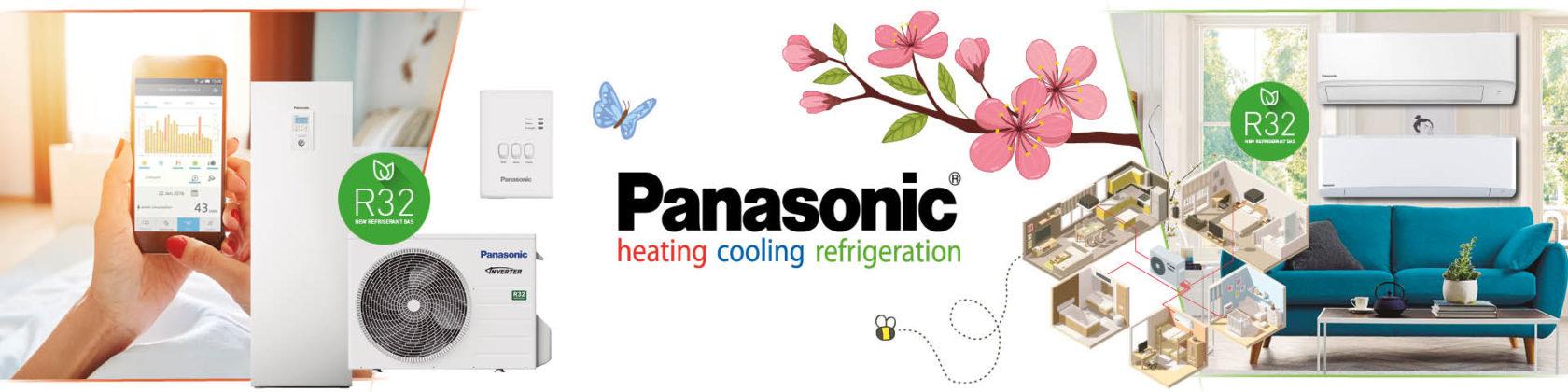 Panasonic Warmtepompen Voorjaarspromotie